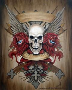 Andrea Christen Skull Crest