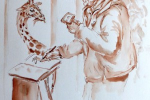 AndreaChristenDrawingZoo