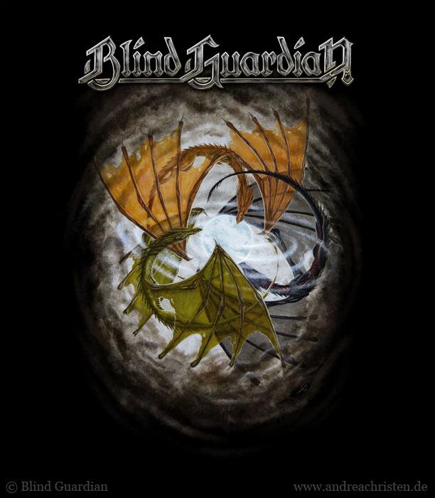 """Blind Guardian """"Three Dragons"""" Tourshirt- Making of"""