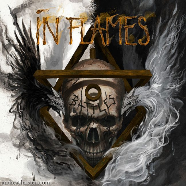 In Flames Battles cover artwork