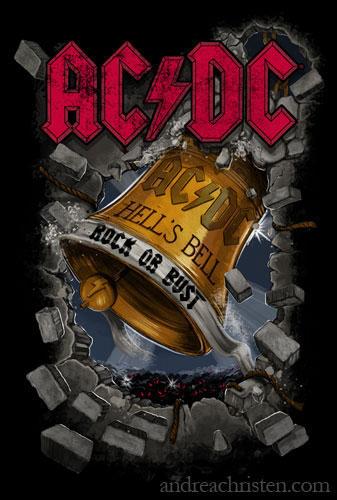 AC/DC Shirt Design